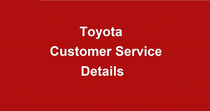 Toyota Customer Service Number | Toyota Phone Number
