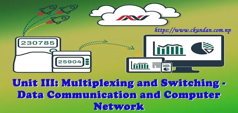 Multiplexing and Switching - Data Communication and Computer Network
