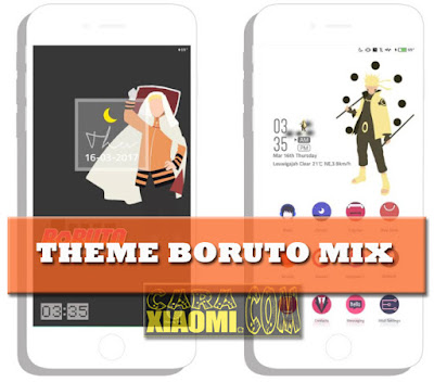 Themes MIUI Boruto Mix Material Mtz [Base Version] For Xiaomi by Sahydin
