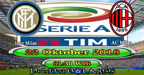 Prediksi Bola855 Inter Milan vs AC Milan 22 Oktober 2018