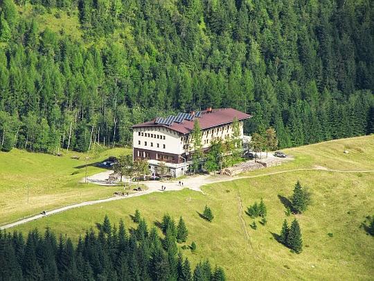 Hotel górski PTTK Kalatówki.