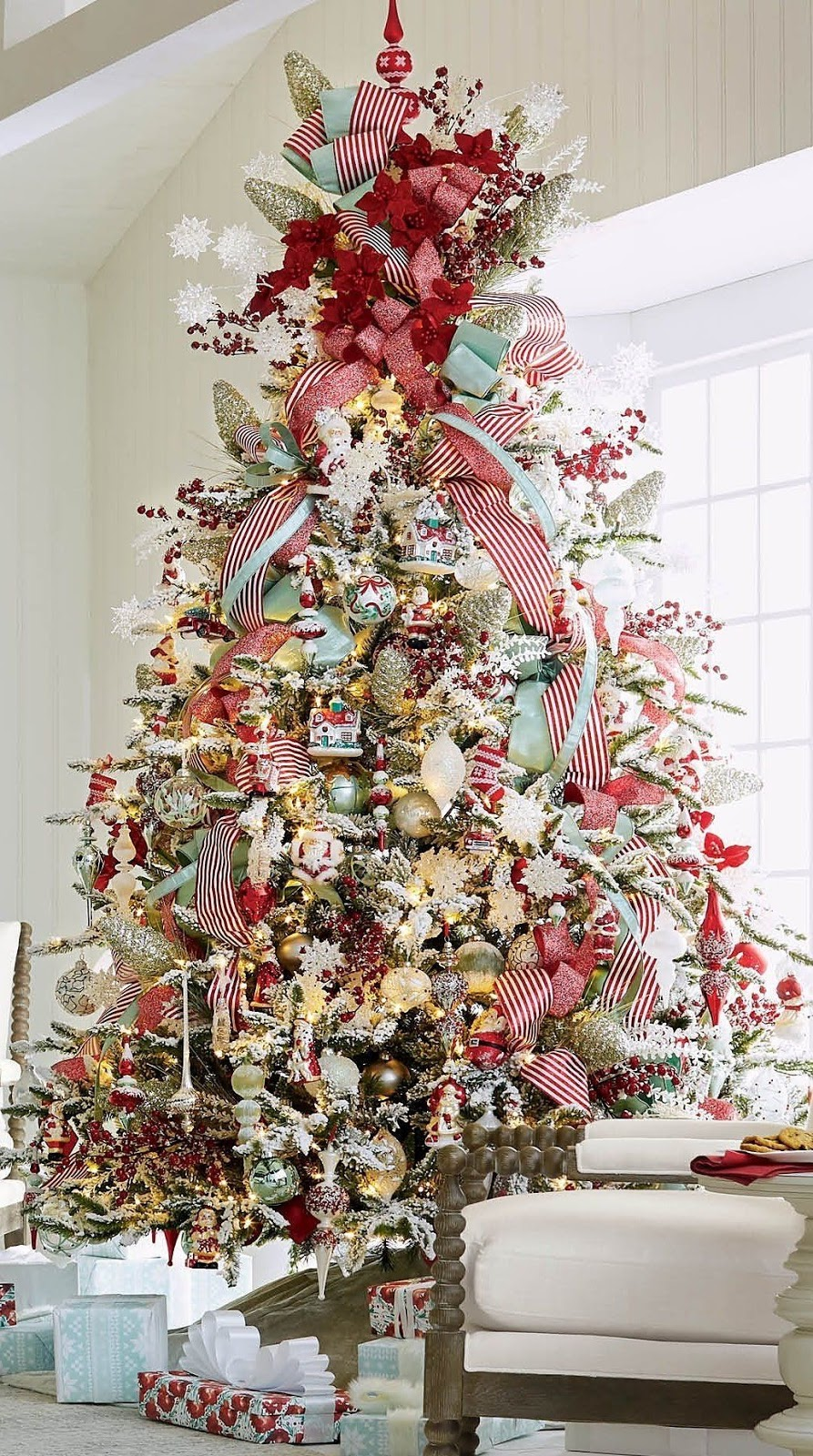 how to decorate an incredible Christmas tree