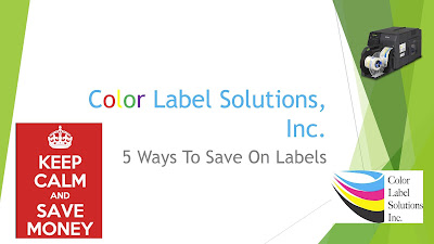 5 Ways To Save On Labels
