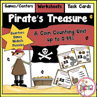 Pirates treasure coin counting unit
