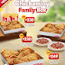 Bring joy to your family everyday with the  NEW 4pc-Chickenjoy Family Box!