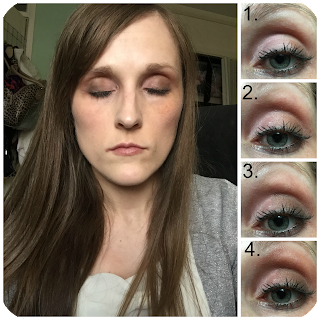 Maybelline blushed nudes look 2