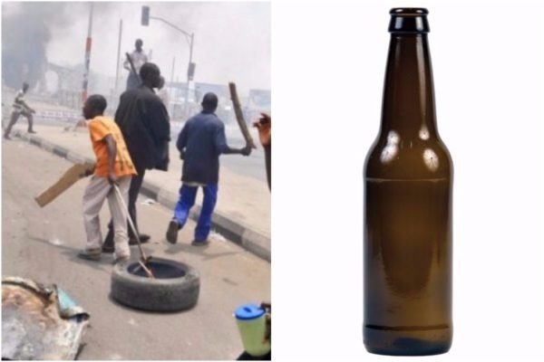 Armed-youths-and-traders-clash-over-stolen-beer-in-Edo-state