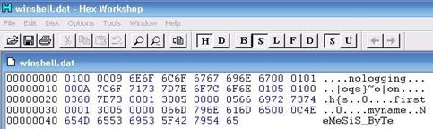 """Gambar 5. Tampilan File winshell.dat setelah """"dibenerin"""" dengan bijak"""