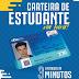 ATENÇÃO: Alterado calendário de confecção da carteira estudantil.