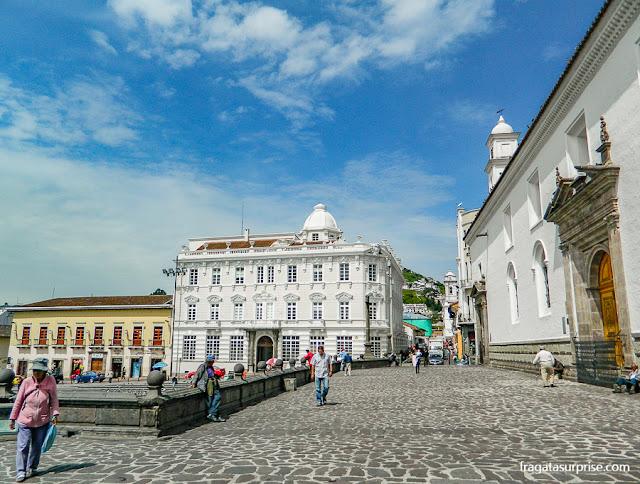 Adro da Igreja de São Francisco, Quito, Equador