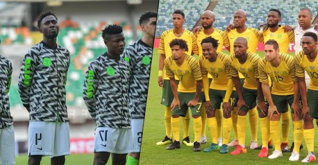 موعد مباراة نيجيريا وجنوب أفريقيا اليوم الأربعاء 10 / 7 / 2019 أول مباريات دور ربع النهائي بأمم أفريقيا والقنوات الناقلة