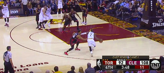 Kyrie Irving Shows Off His INSANE Handles and Gets to the Rim (VIDEO)