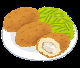 石川県のカキフライの画像です