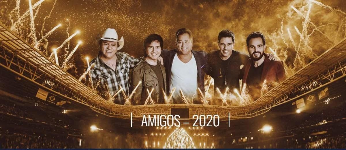 Agenda Shows Amigos 2020 Locais, Ingressos, Preços