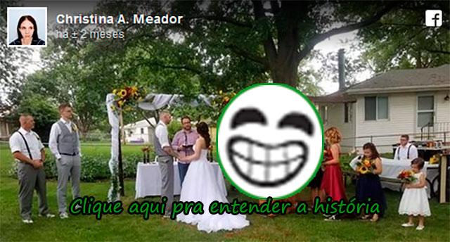 E A MADRINHA QUE FOI VESTIDA DE T-REX AO CASAMENTO DA IRMÃ