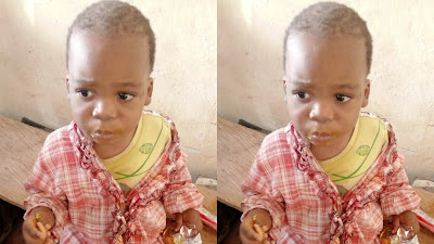 The Police Command in Anambra says it has found a two-year-old male child who was wandering in Oba International Market