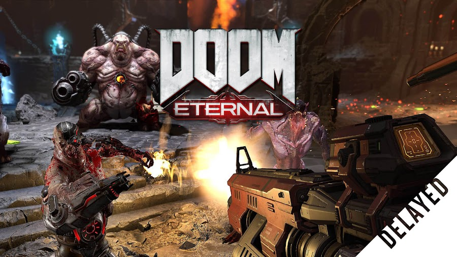 doom eternal delayed march 2020 id software bethesda softworks pc ps4 stadia switch xb1