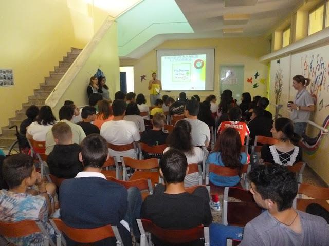 Ομιλίες στο Ενιαίο Ειδικό Επαγγελματικό Γυμνάσιο Λύκειο Αργολίδας