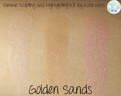Rimmel Sculpting and Highlighting Kit by Kate Moss - Golden Sands | Kat Stays Polished