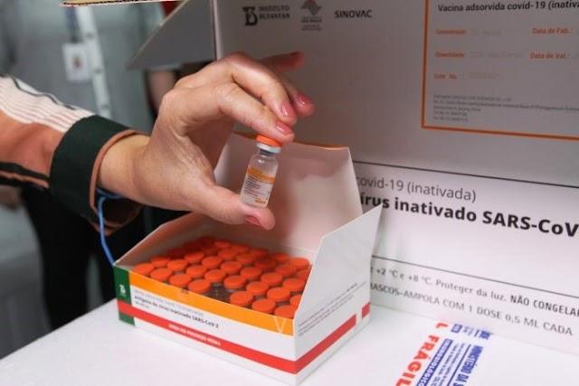 Bahia: Segunda dose da Coronavac começa a ser aplicada na próxima segunda-feira (15)