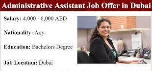 Executive Assistant Jobs Recruitment in Dubai