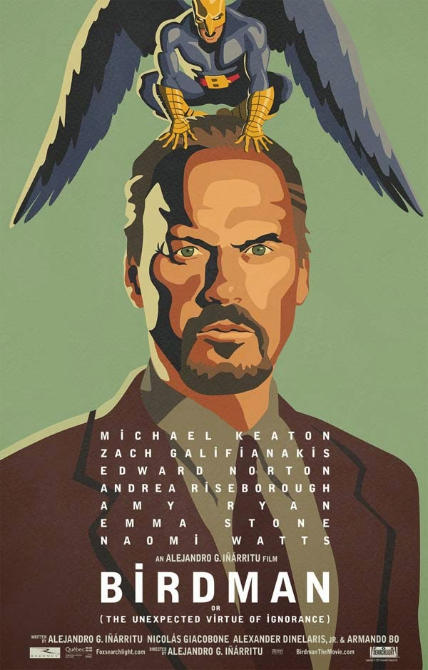 """""""Birdman o (La inesperada virtud de la ignorancia)"""" (Alejandro González Iñarritu, 2014)"""