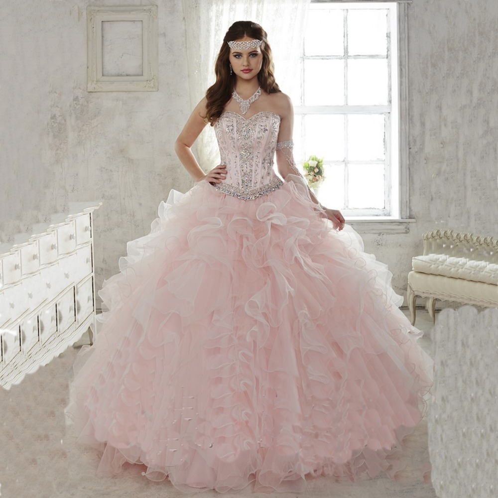 Pink Wedding Dresses Near Me: Vestidos De 15 Años Desmontables ¡Exclusivos!