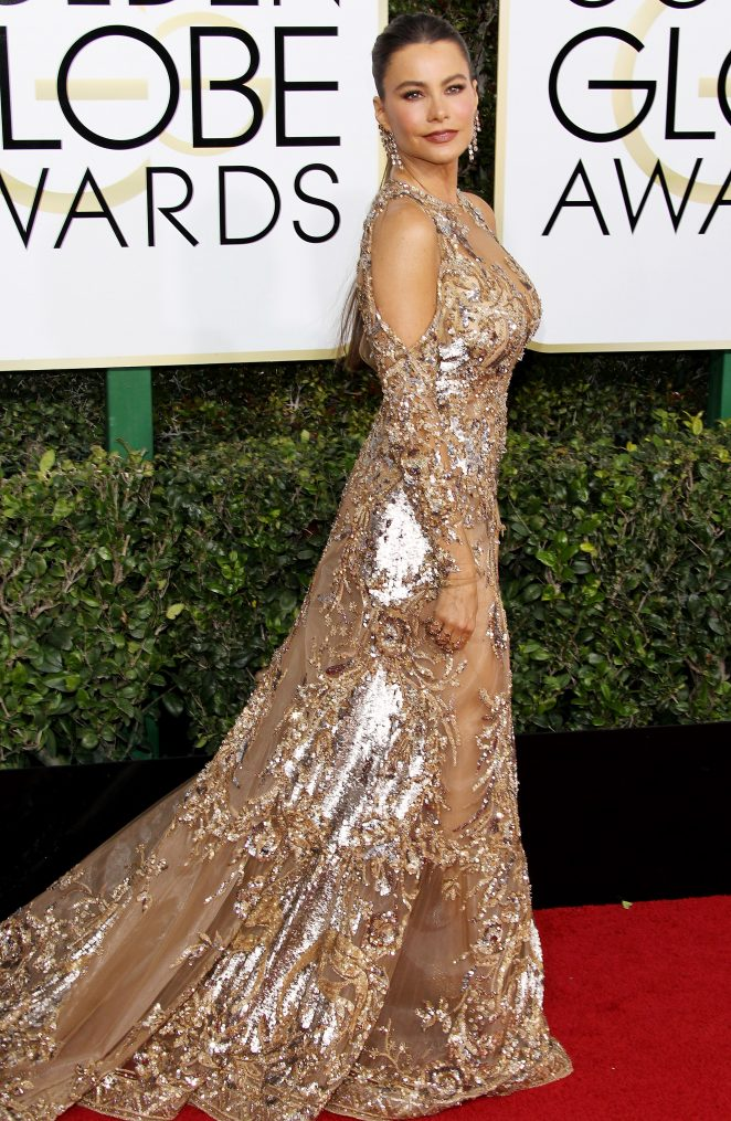 Sofia Vergara: 74th Annual Golden Globe Awards
