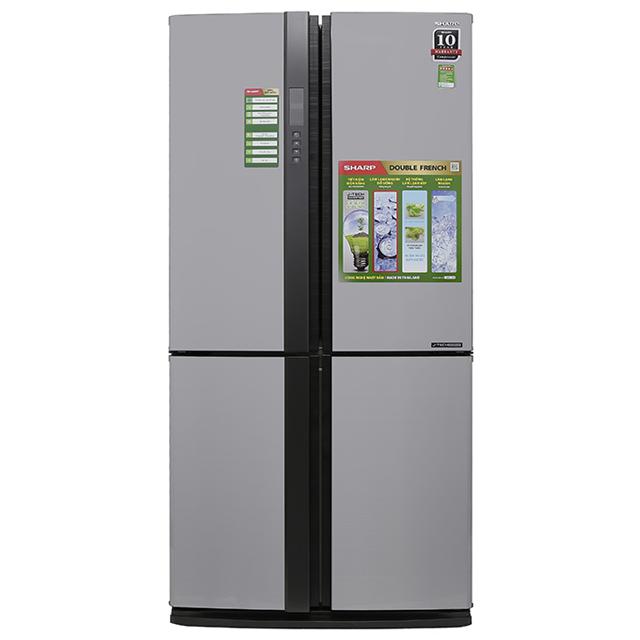Tủ lạnh 4 cánh SHARP SJ-FX680V-ST