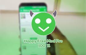 تحميل برنامج happy mod تهكير الالعاب للاندرويد وللايفون  باخر اصدار مجانا