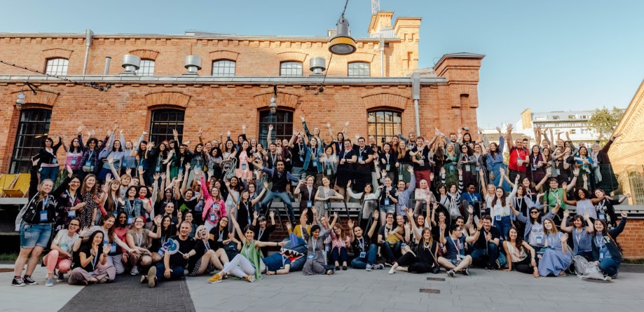 Such positive energy! All 120 attendees of the WTM Summit Europe 2019