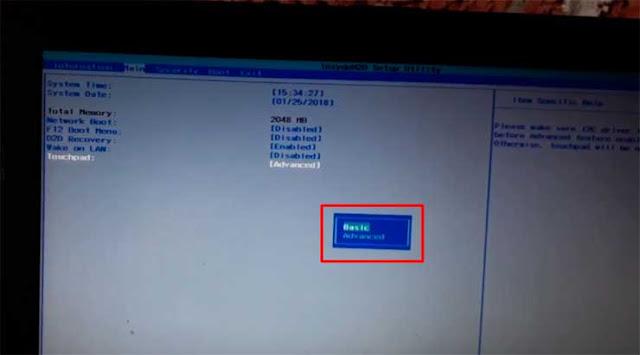 El TouchPad de mi computadora Acer Aspire se no funciona