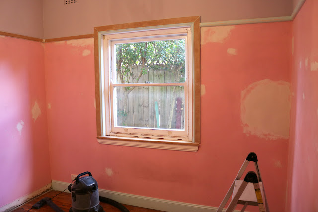 Complete Room Makeover - From Spare Bedroom to Home Office - Preparing the Room and Patching the Walls