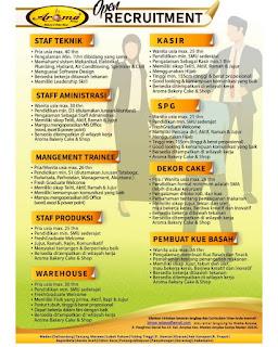 Lowongan Kerja SMA SMK D3 S1 Medan Januari 2020 Banyak Posisi