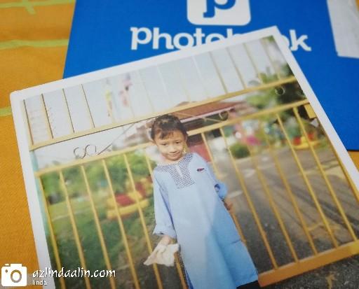Photobook Kulit Keras Untuk Moment Dhia 5 Tahun