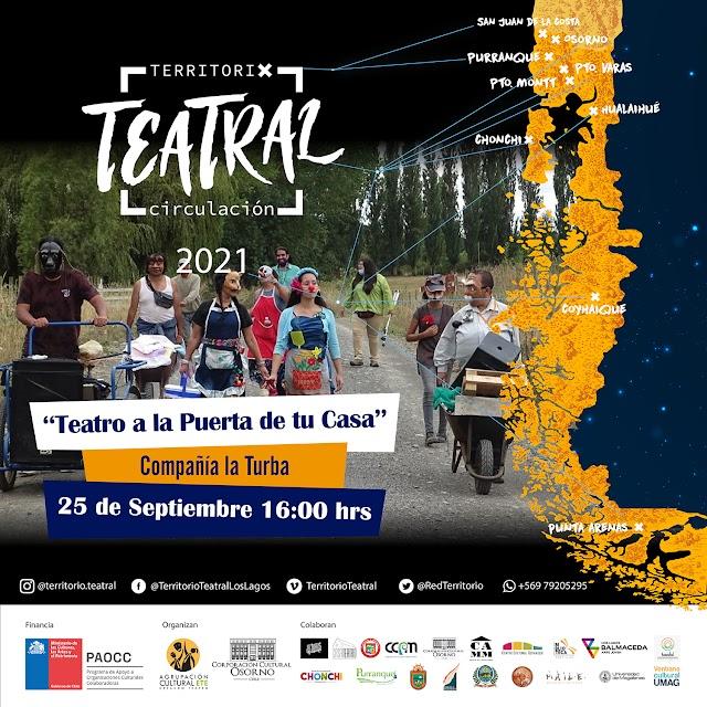 """""""Teatro a la puerta de tu casa"""" se presentará en feria Rahue y sector Francke de Osorno"""
