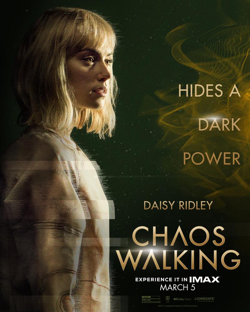 chaos walking poster daisy ridley