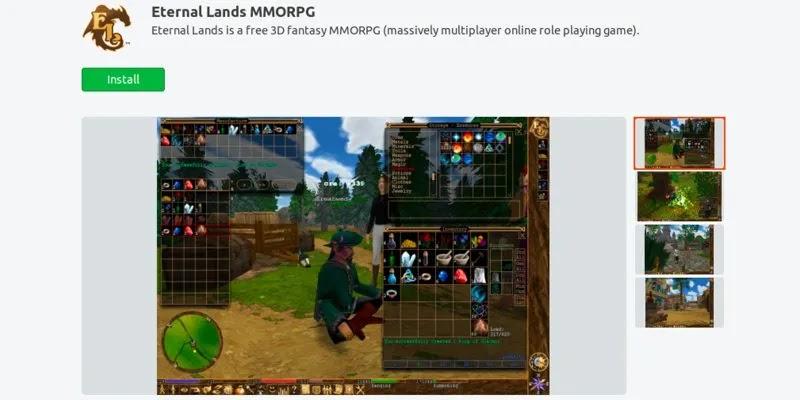 أفضل ألعاب ubuntu-snap-store-eternal-land