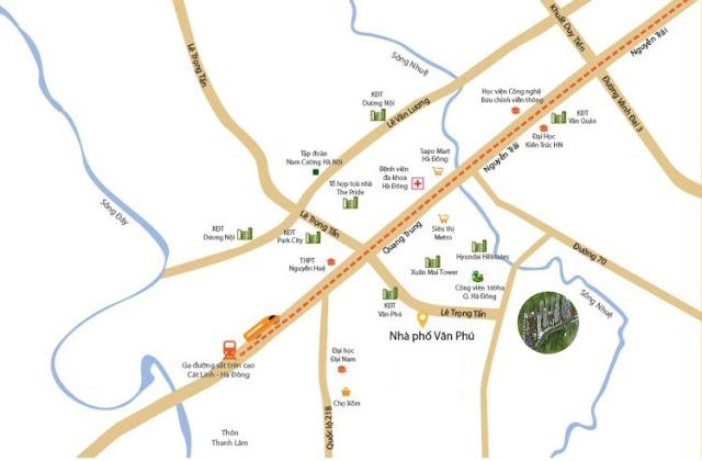 Vị trí đắc địa tại dự án chung cư căn hộ Mipec Kiến Hưng Hà Đông