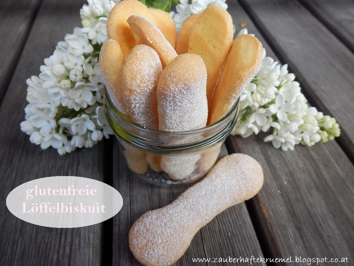 Zauberhafte Krumel Rezepte Glutenfreie Loffelbiskuit Biskotten