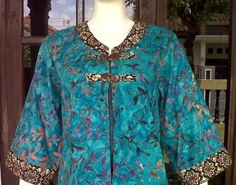 Model Bolero Batik Baru