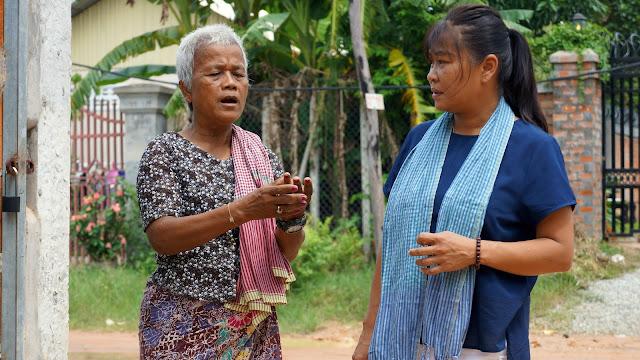 Tournage : Les autres vies de Kattia, à Siem Reap