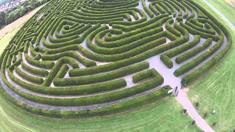 Labyrinth of the world (Castlewellan, Ireland)