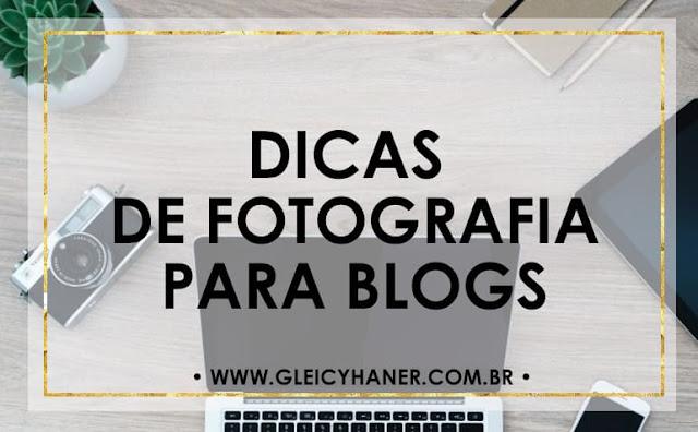 dicas de fotografia para blogs