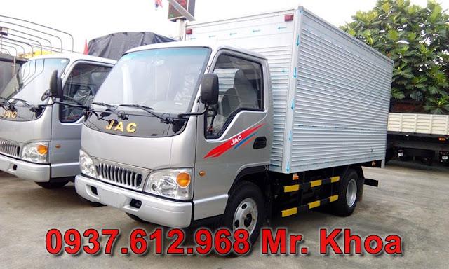 Xe tải jac 2.4 tấn giá bao nhiêu