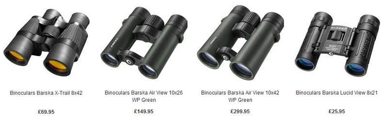 Binoculars for birdwatching