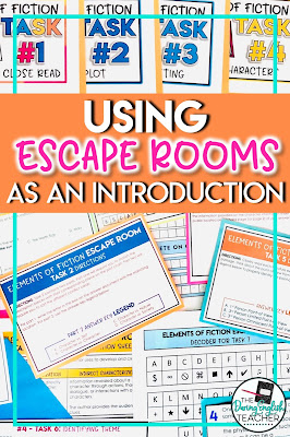 Four Ways to Incorporate Escape Rooms in the Secondary ELA Classroom