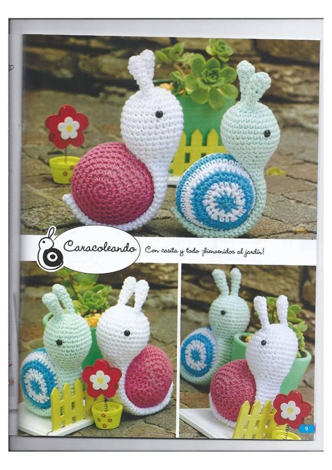 Amigurumi Caracol : PATRONES GRATIS DE CROCHET: Patron gratis a crochet de ...