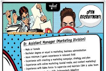 Lowongan Kerja Assistant Manager Wakaf Salman