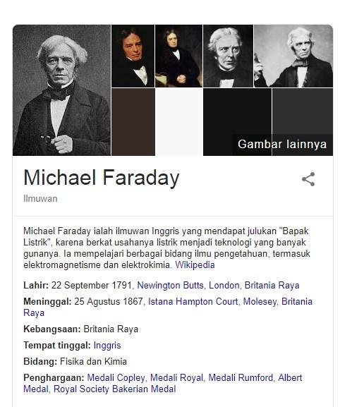 19 Fakta Menarik Michael Faraday Ilmuwan Dari Inggris